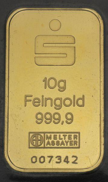 10g Goldbarren Bilder Verschiedener Pr 228 Geanstalten Esg